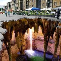 نقاشی سه بعدی خیابانی!
