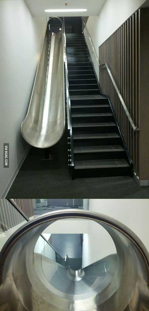 پله سرسره