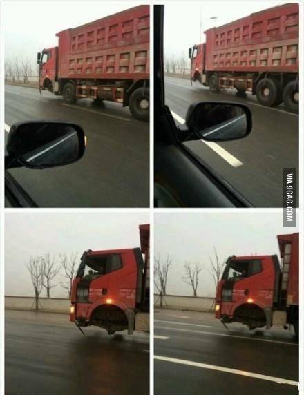 کامیون بدون چرخ جلو