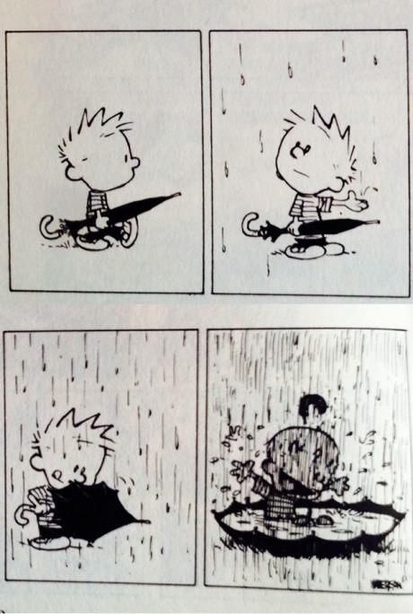 زیر باران باید رفت